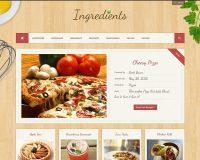 Ingredients WordPress Theme via ThemeForest