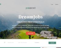 Job Hunt WordPress Theme via ThemeForest