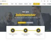 Jobmonster WordPress Theme via ThemeForest