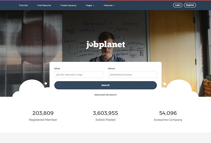 Jobplanet WordPress Theme via ThemeForest