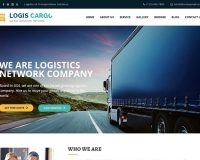 Logis Cargo WordPress Theme via ThemeForest
