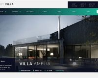 Luxury Villa WordPress Theme via ThemeForest
