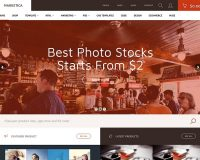 Marketica WordPress Theme via ThemeForest