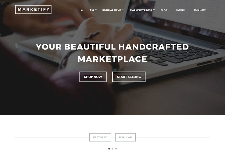 Marketify WordPress Theme via ThemeForest