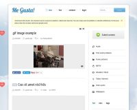 Me Gusta WordPress Theme via ThemeForest