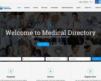 Medical Directory WordPress Theme via ThemeForest