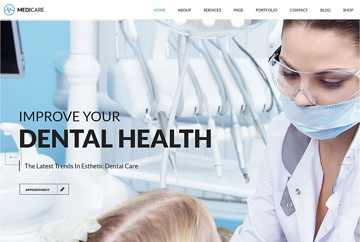 Medicare WordPress Theme via ThemeForest