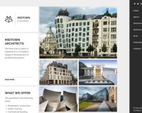 Midtown Architects WordPress Theme via ThemeForest