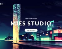MIES WordPress Theme via ThemeForest