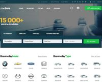 Motors WordPress Theme via ThemeForest