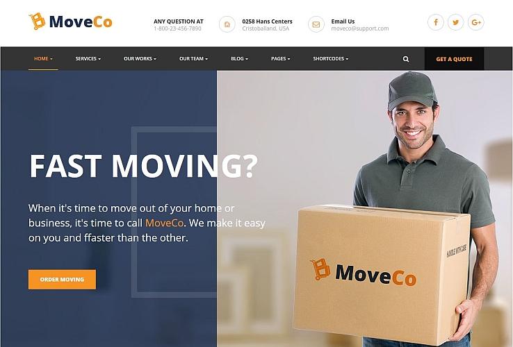 MoveCo WordPress Theme via ThemeForest