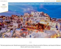 Mykonos Resort WordPress Theme via ThemeForest