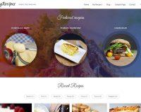 myRecipes WordPress Theme via ThemeForest