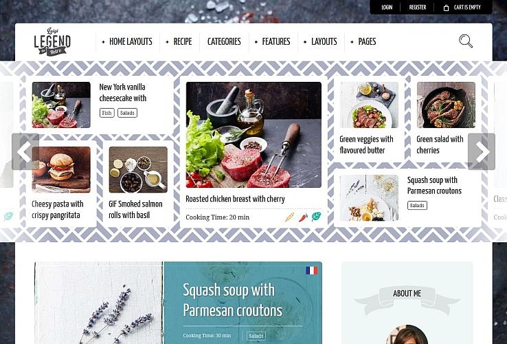 Neptune WordPress Theme via ThemeForest