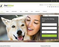 PetSitter WordPress Theme via ThemeForest
