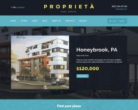 Proprieta HTML Website Template via ThemeForest