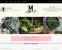 Recipe Blog WordPress Theme via ThemeForest