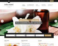 Soho Hotel WordPress Theme via ThemeForest