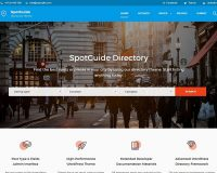 SpotGuide WordPress Theme via ThemeForest