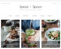 Sprout & Spoon WordPress Theme via ThemeForest