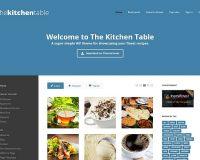 The Kitchen Table WordPress Theme via ThemeForest