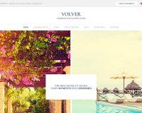 Volver WordPress Theme via ThemeForest