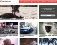Novapress WordPress Theme by Themely