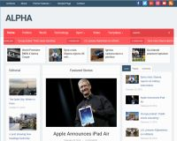 Alpha WordPress Theme by WPZoom