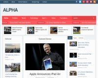 Alpha WordPress Theme by WPZoom
