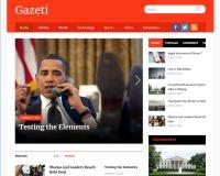 Gazeti WordPress Theme by WPZoom