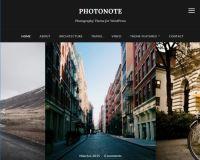 Photonote WordPress Theme by WPZoom